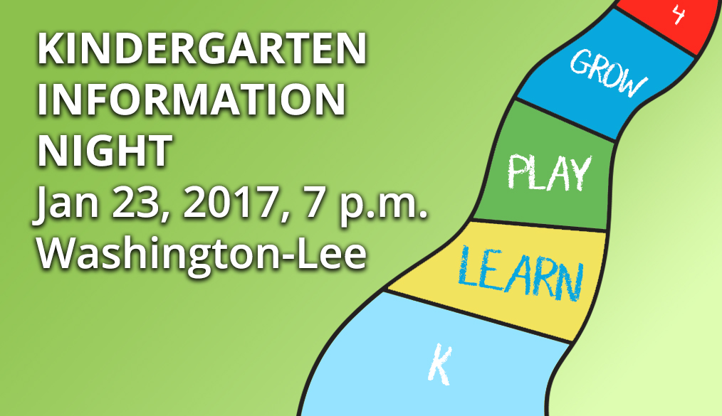 COUNTY-WIDE Kindergarten Information Night at W-L HS