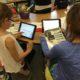 Using iPads to identify birds