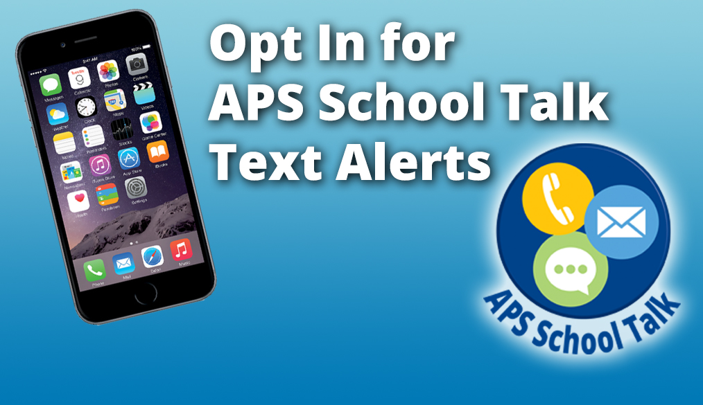 Opt-In for APS Alerts by Text
