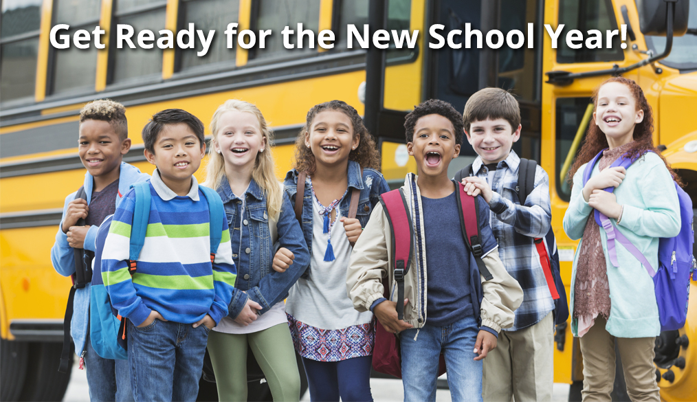 Get Ready for the New School Year 2019-2020