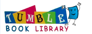 TumbleBooks logo with dancing books