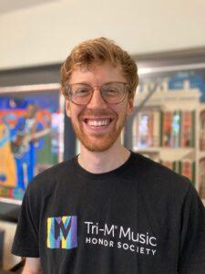 Photograph of instrumental teacher Brian Bersh